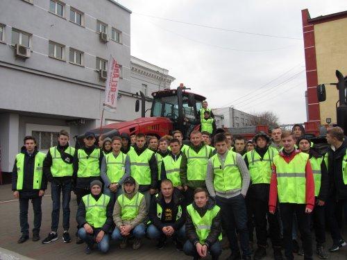 Экскурсионная поездка в г. Минск на ОАО «Минский тракторный завод»
