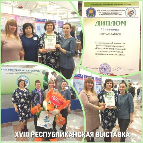 Выставка научно-методической литературы, педагогического опыта и творчества учащейся молодежи.