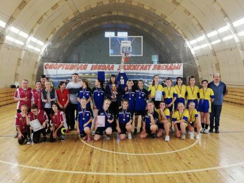 Областные соревнования по баскетболу среди девушек